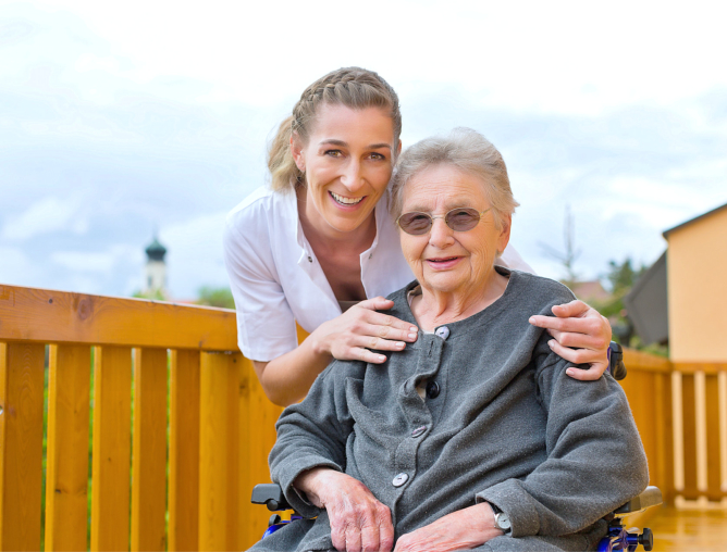 Graceful Aging in the Comforts of Home